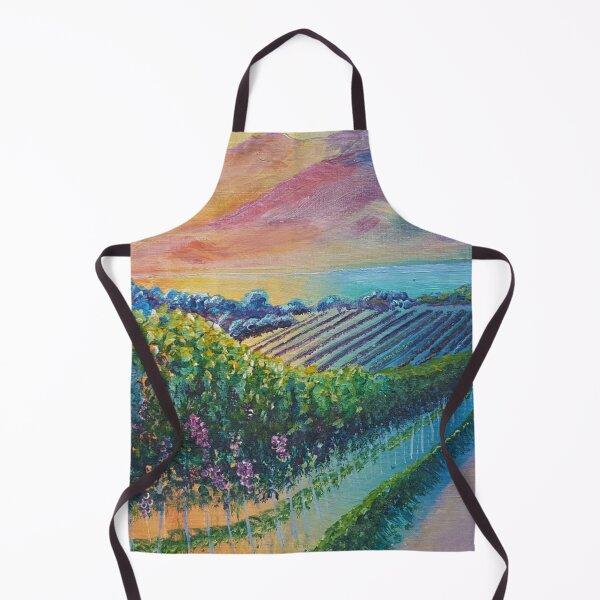 Colourful Vineyard Landscape Apron