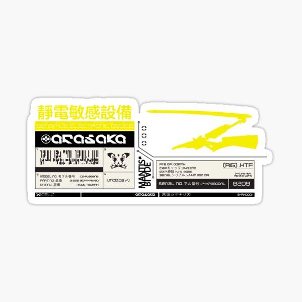 Arasaka Mantisblade Sticker