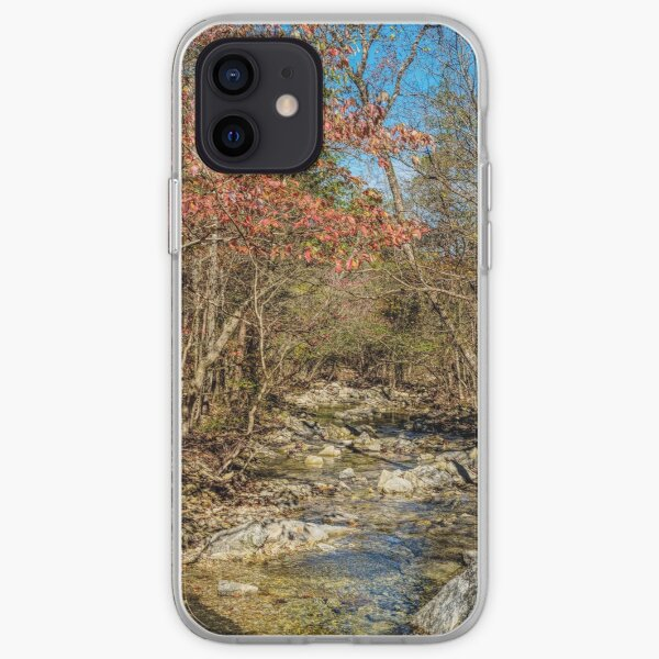 Fall Along The Creek In Henning Conservation iPhone Soft Case