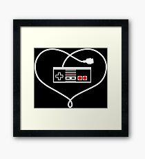 Love NES Framed Print