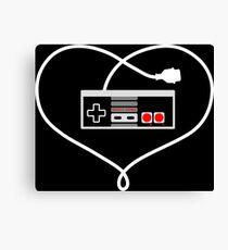 Love NES Canvas Print