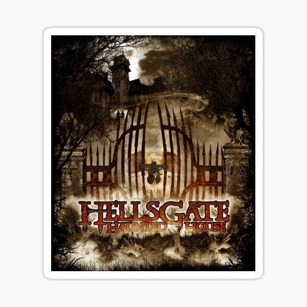HellsGate Haunted House Original Poster Sticker