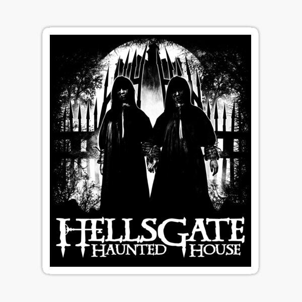 HellsGate Haunted House 2016 T-shirt Sticker
