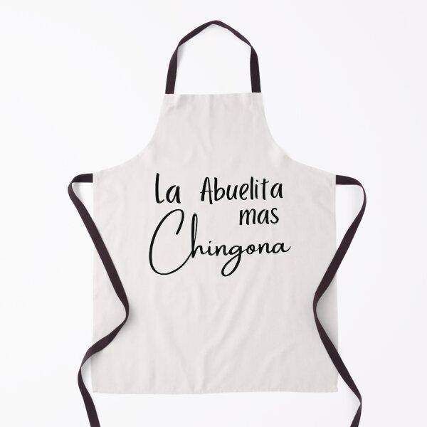 La Abuelita mas chingona shirt, Funny Spanish Grandma Shirt, Chingona Shirt, Latina Grandma, Spanish Shirt, Apron