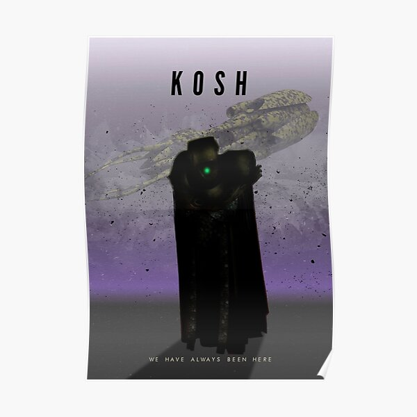 Babylon 5 - Kosh Poster
