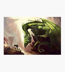Green Elder Dragon Photographic Print