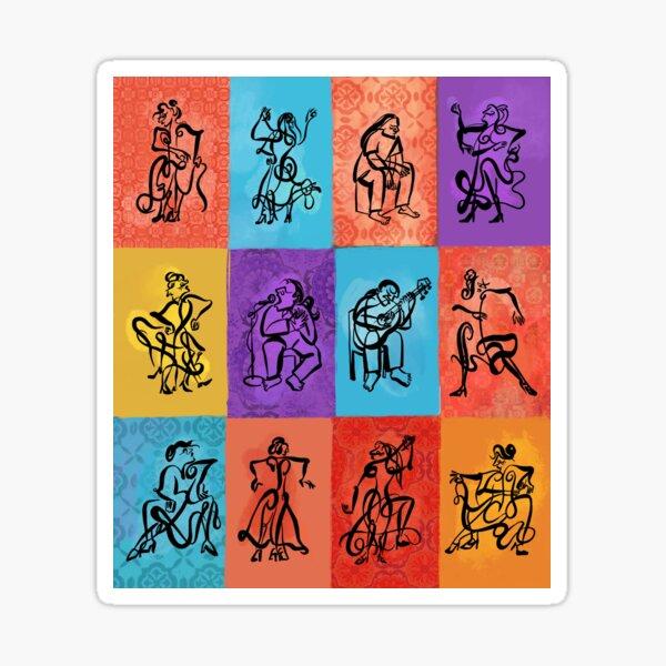 OLÉ! Flamenco 2 Sticker