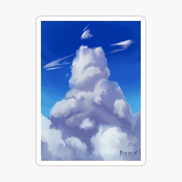 Lovely Skies Sticker