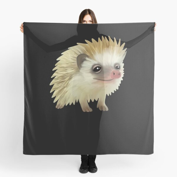 Hedgehog Mothers Day Gift Best Friend Gift Hedgehog Accessories Scarf Shawl Pins