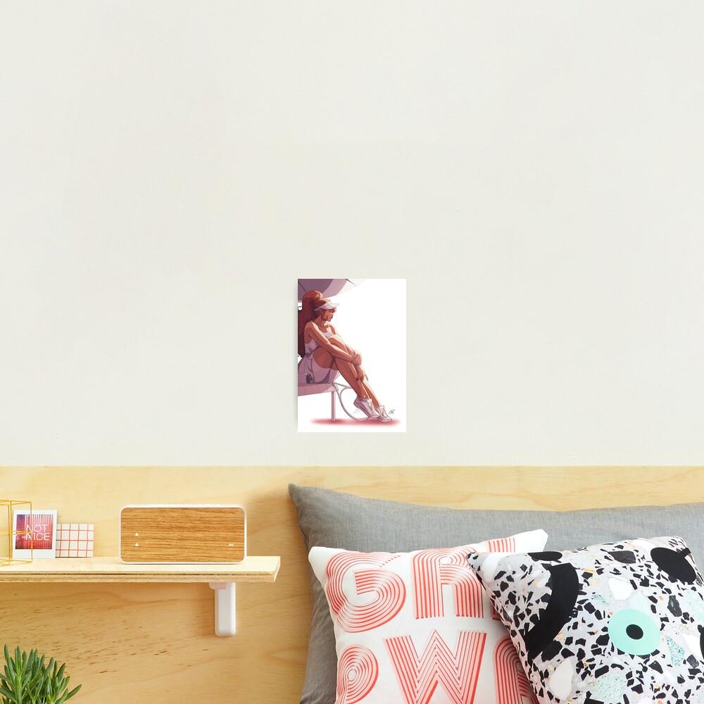 Eva's Break Photographic Print