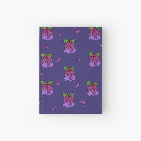 Christmas pudding  Hardcover Journal
