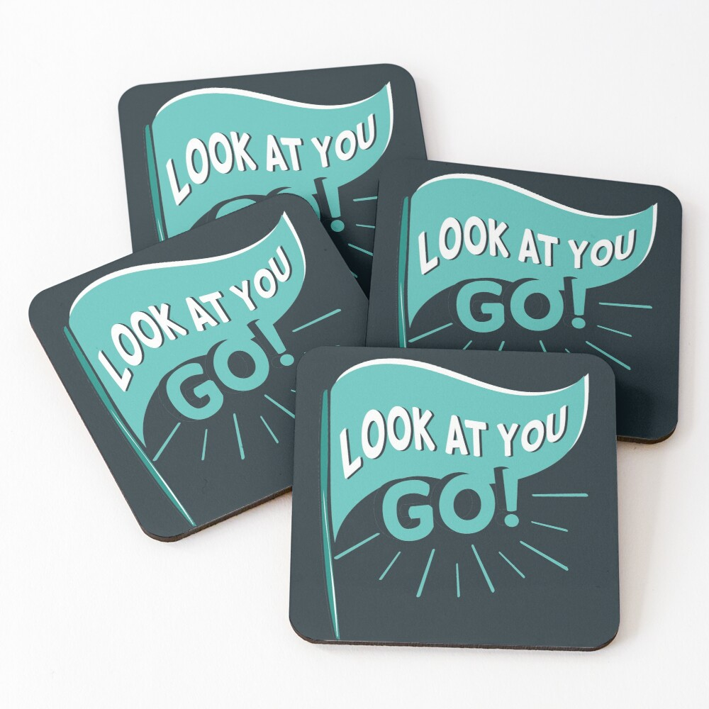 David Rose congratulates Patrick Brewer on Schitt's Creek. Patrick gets a phone number of an interested man and David cheers him on. Coasters (Set of 4)