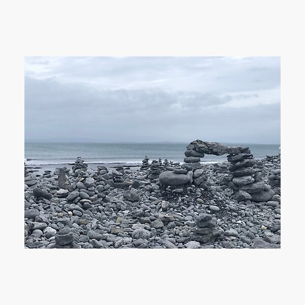 Cairns of Inis Mór Photographic Print