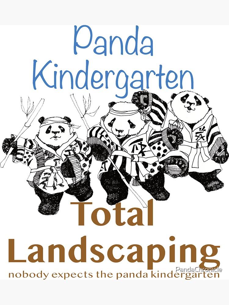 PandaKindergarten Total Landscaping by PandaChronicle