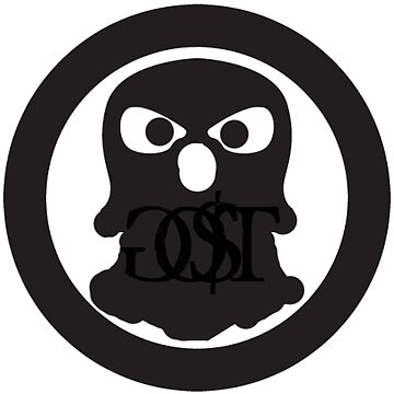 GO$T ghost logo by CREATiVEBRiLLiANCE