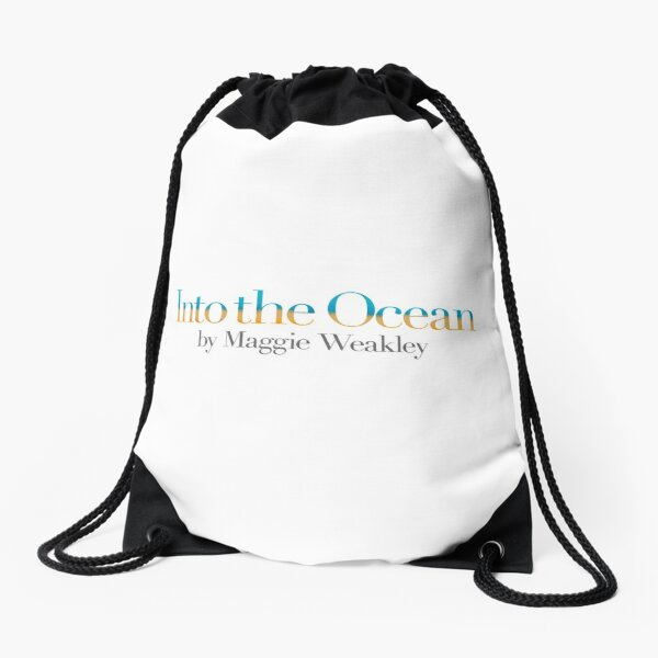 Into The Ocean Drawstring Bag