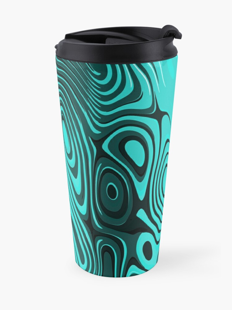 Alternate view of Psychedelic art. Art movement Travel Mug