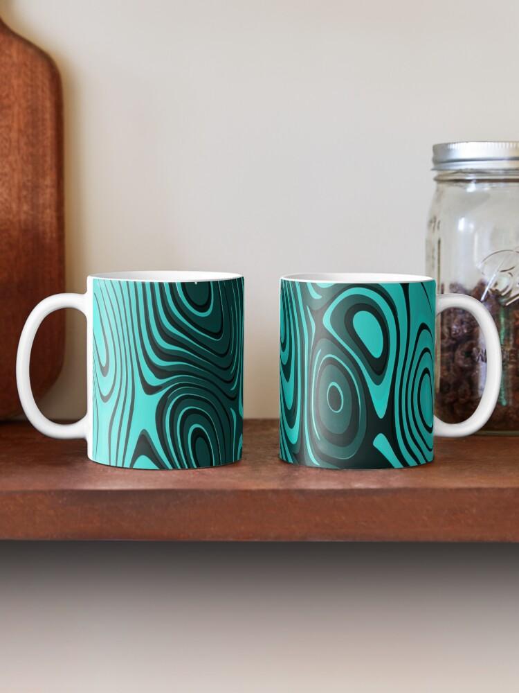 Alternate view of Psychedelic art. Art movement Mug