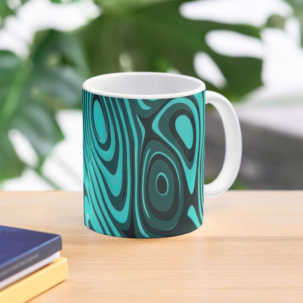 Psychedelic art. Art movement Mug