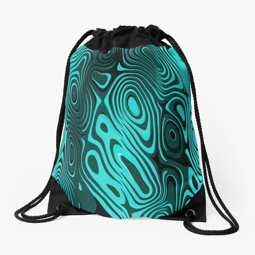 Psychedelic art. Art movement Drawstring Bag