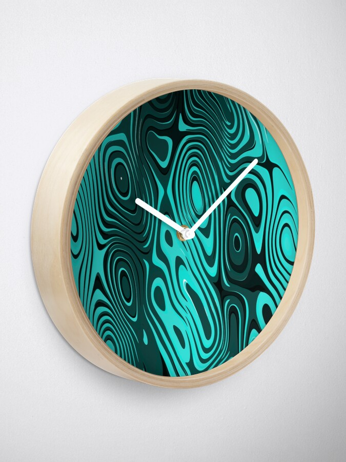 Alternate view of Psychedelic art. Art movement Clock