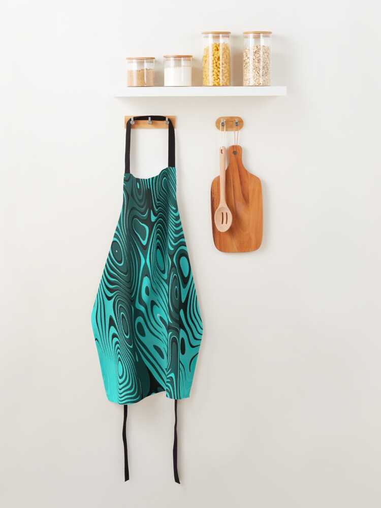 Alternate view of Psychedelic art. Art movement Apron