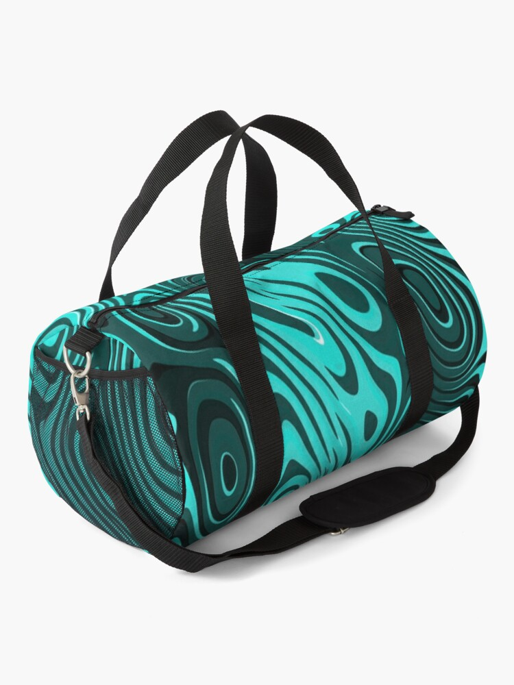 Alternate view of Psychedelic art. Art movement Duffle Bag
