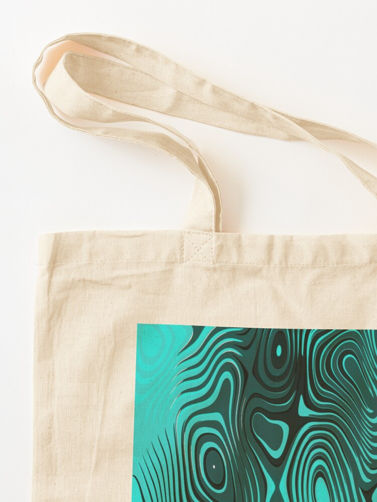 Alternate view of Psychedelic art. Art movement Tote Bag