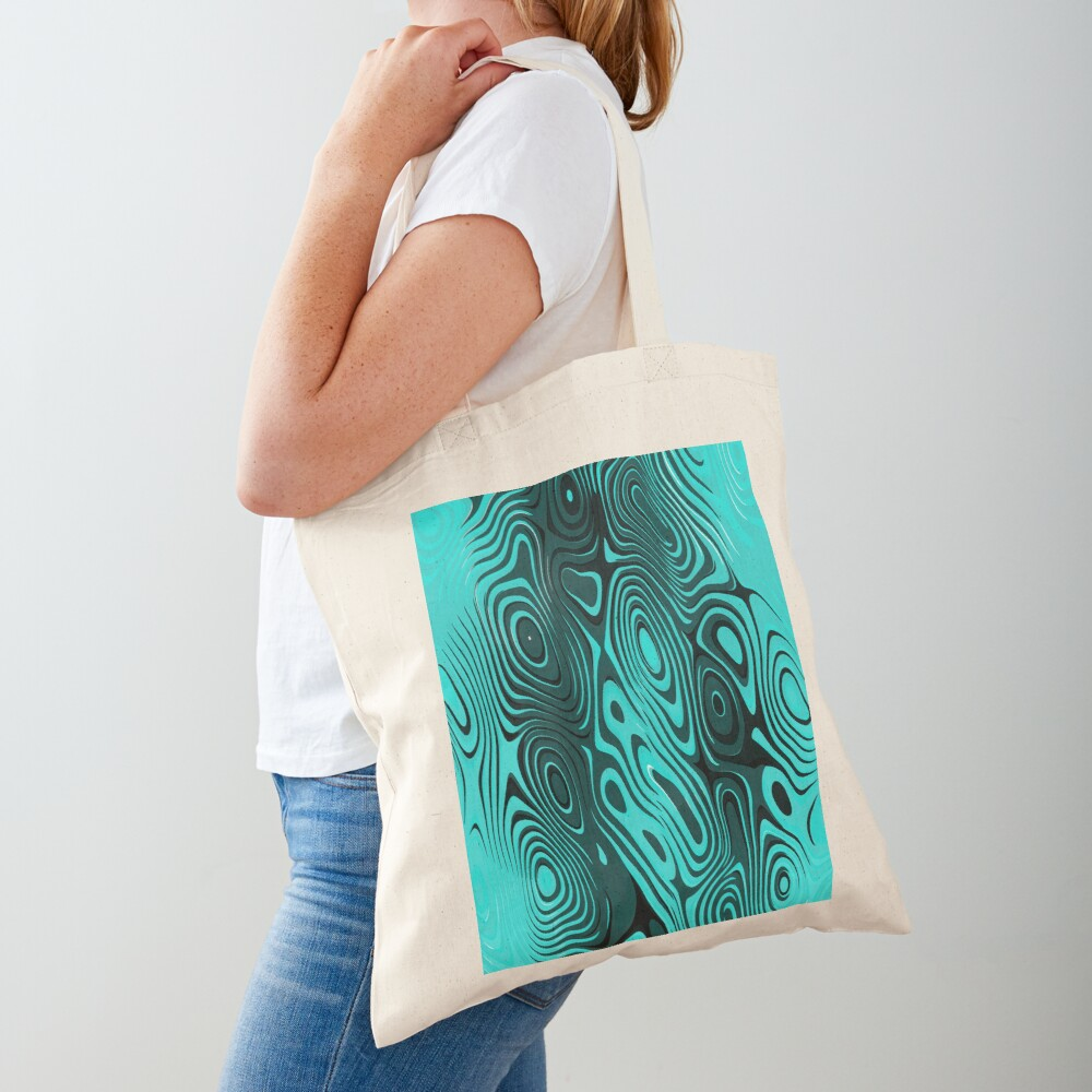 Psychedelic art. Art movement Tote Bag