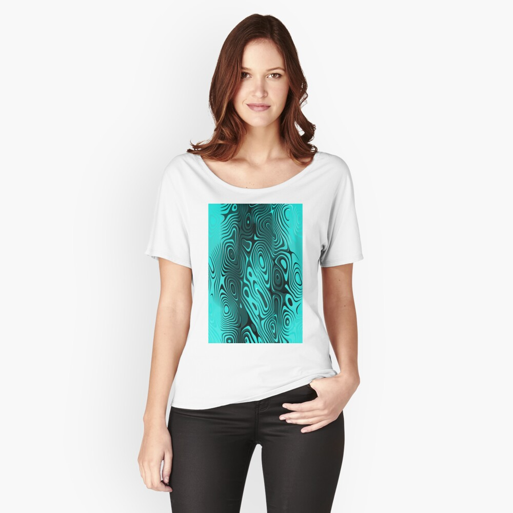 Psychedelic art. Art movement Relaxed Fit T-Shirt
