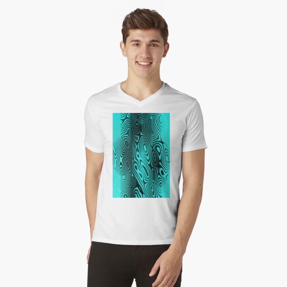 Psychedelic art. Art movement V-Neck T-Shirt