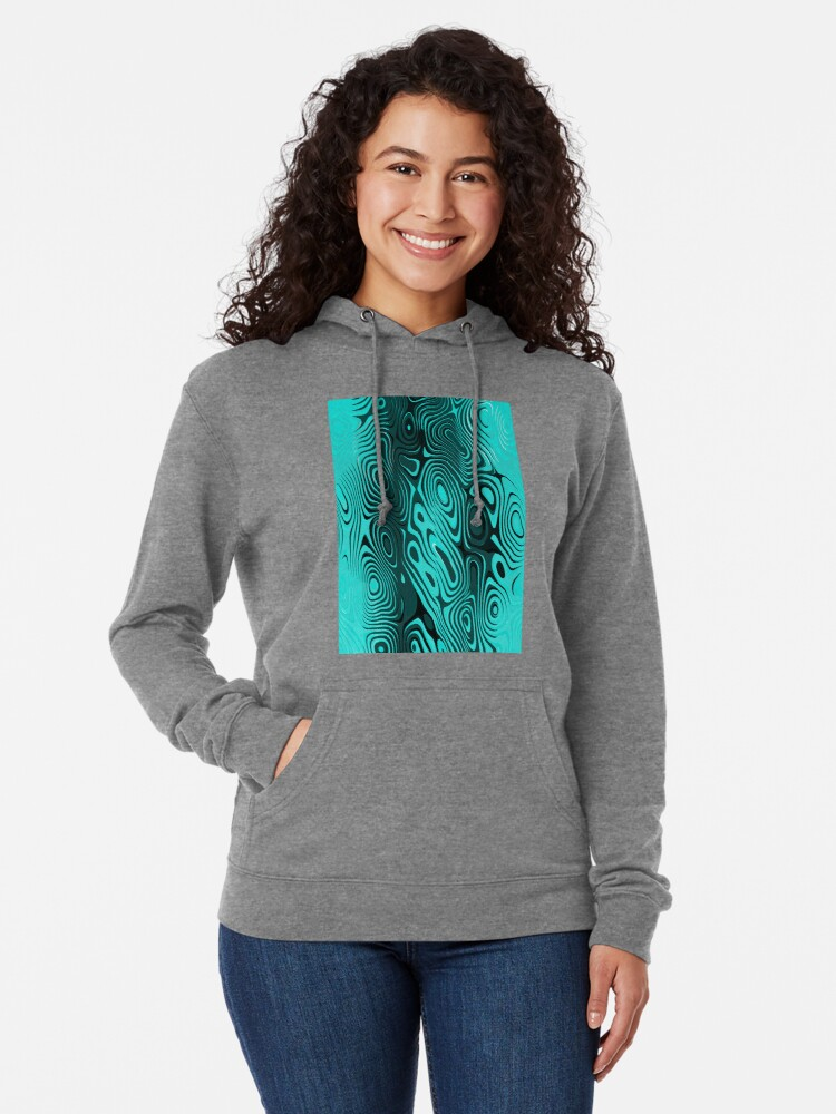 Alternate view of Psychedelic art. Art movement Lightweight Hoodie