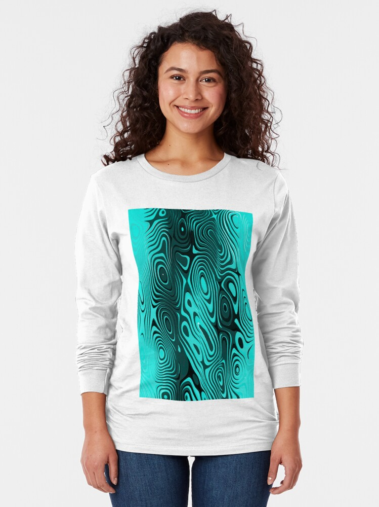 Alternate view of Psychedelic art. Art movement Long Sleeve T-Shirt