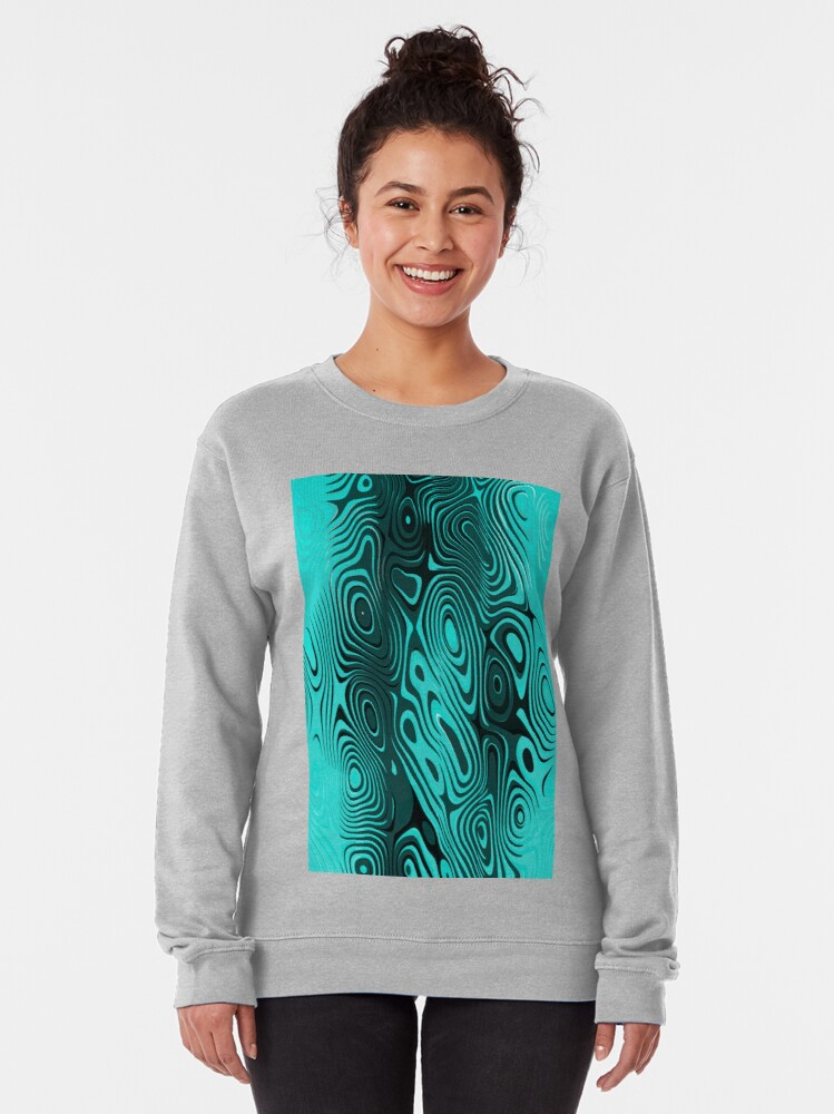 Alternate view of Psychedelic art. Art movement Pullover Sweatshirt