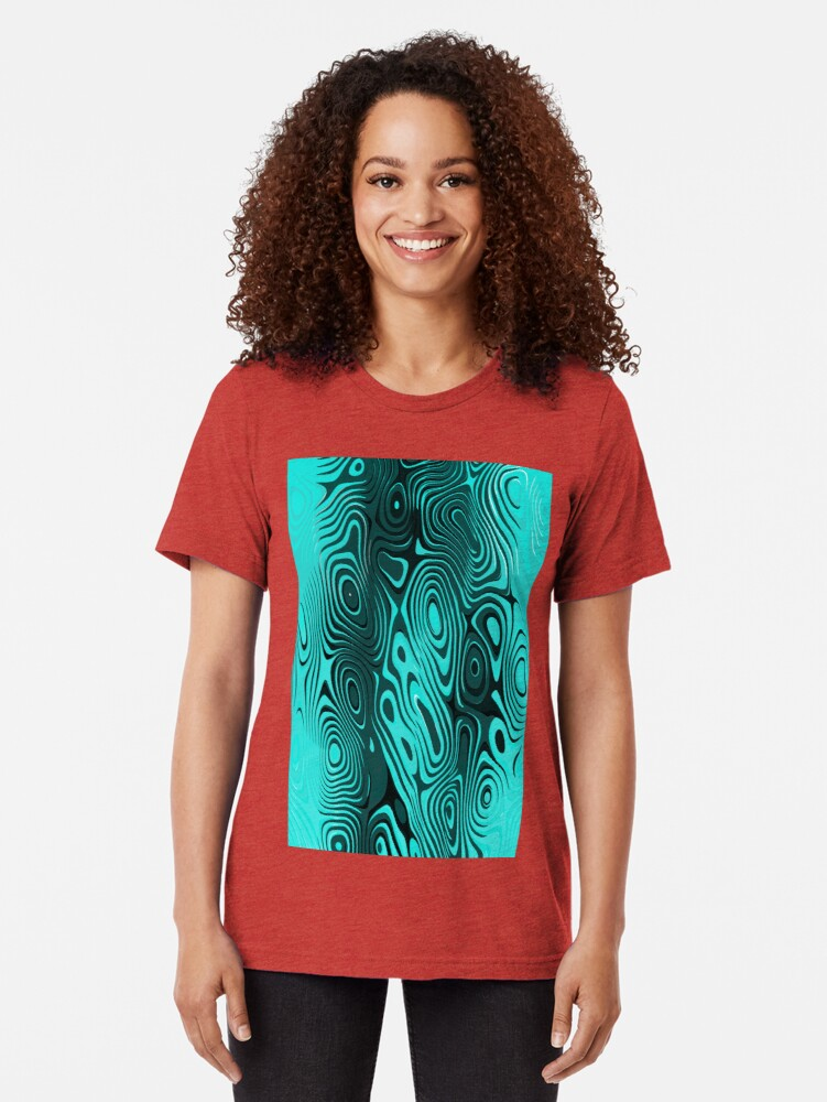 Alternate view of Psychedelic art. Art movement Tri-blend T-Shirt