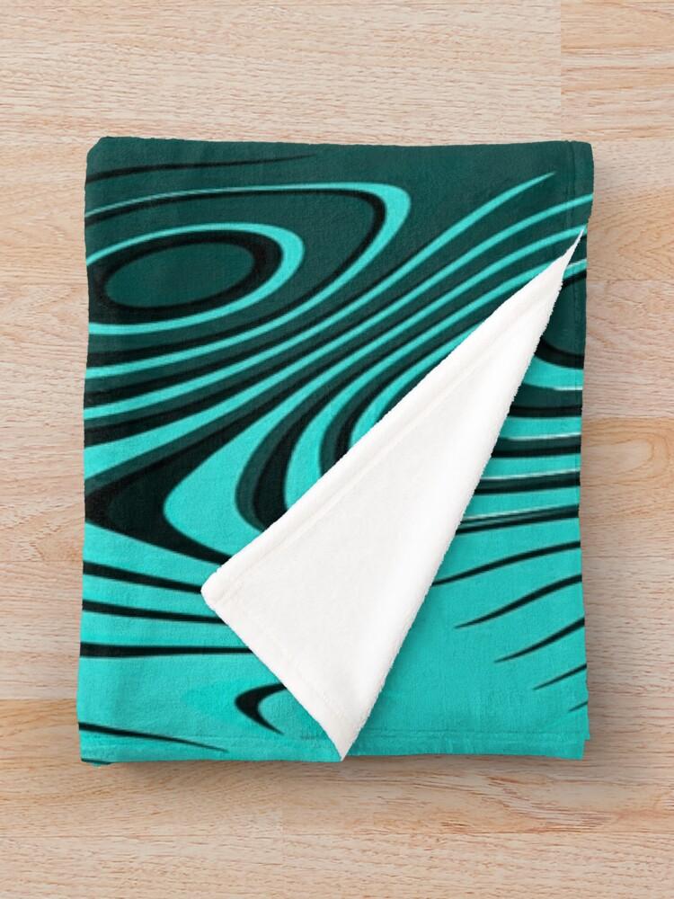 Alternate view of Psychedelic art. Art movement Throw Blanket