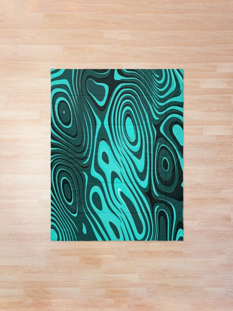 Alternate view of Psychedelic art. Art movement Comforter