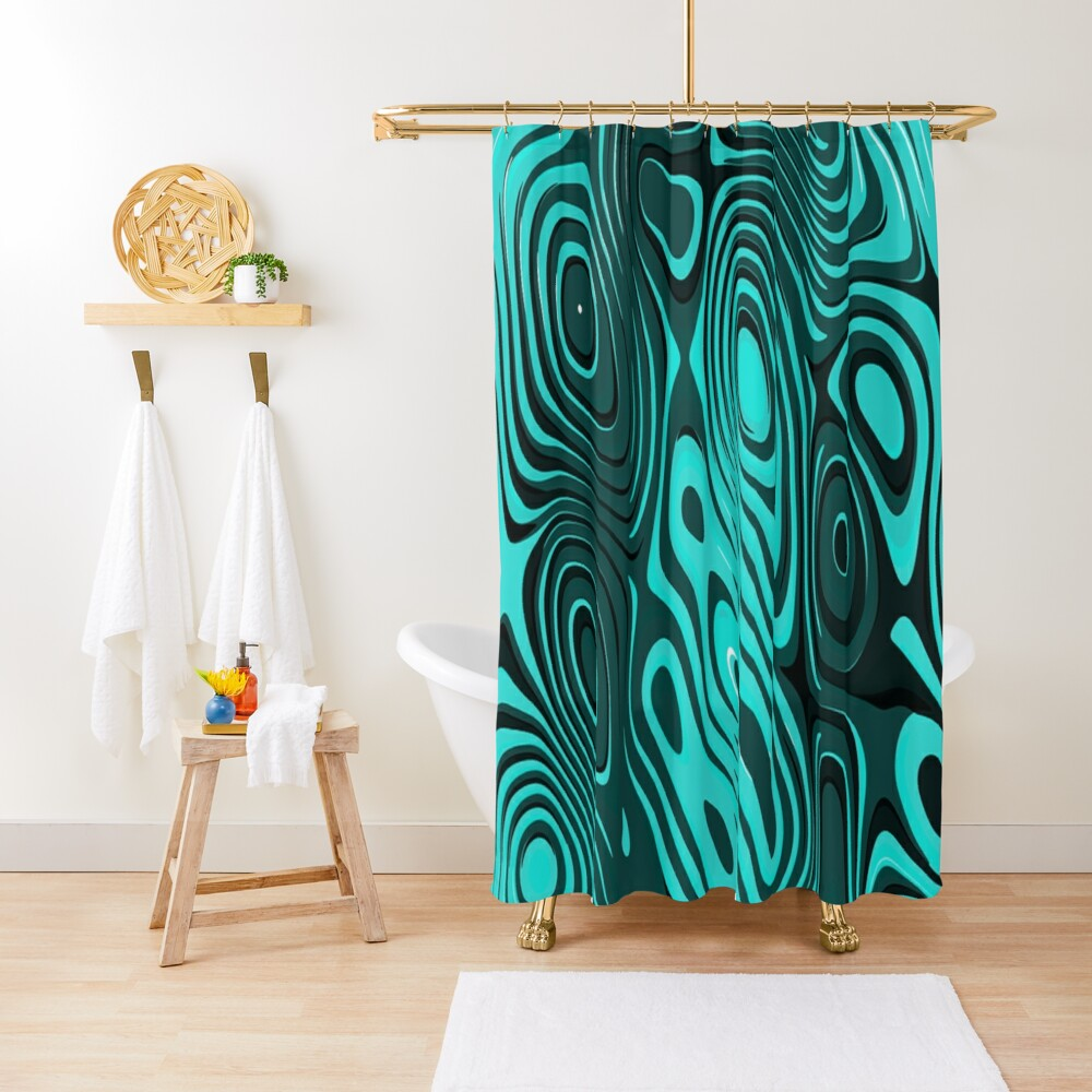 Psychedelic art. Art movement Shower Curtain