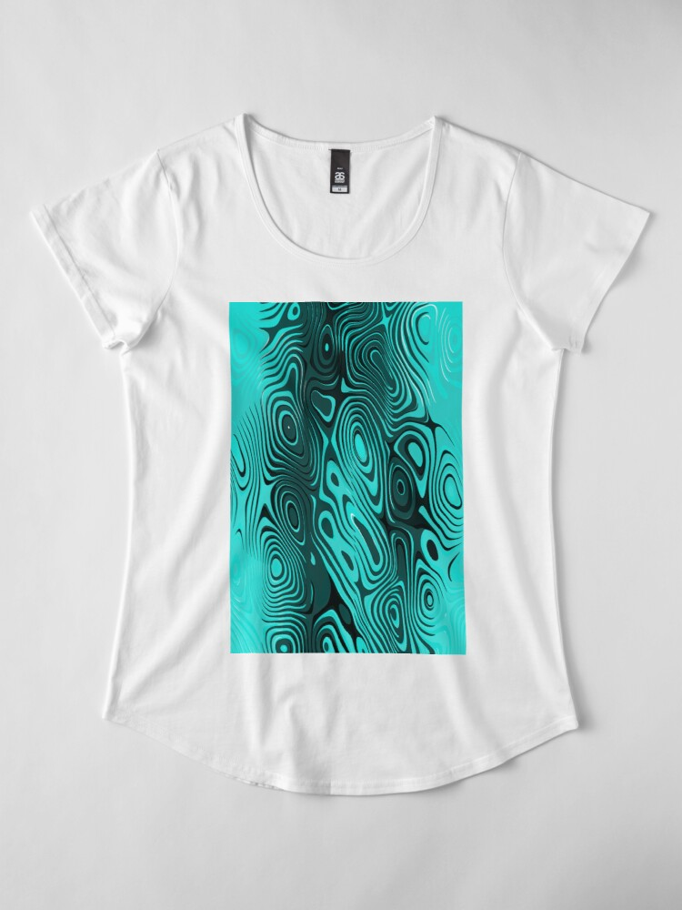 Alternate view of Psychedelic art. Art movement Premium Scoop T-Shirt