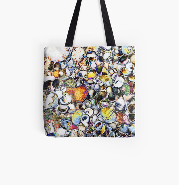 Shells Photography  All Over Print Tote Bag