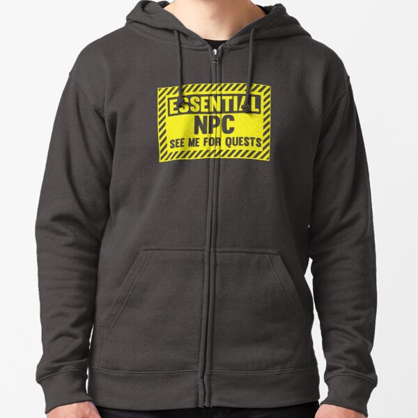 Essential NPC Zipped Hoodie