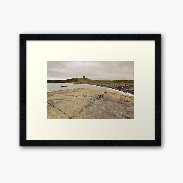 Dunstanburgh Castle Framed Art Print