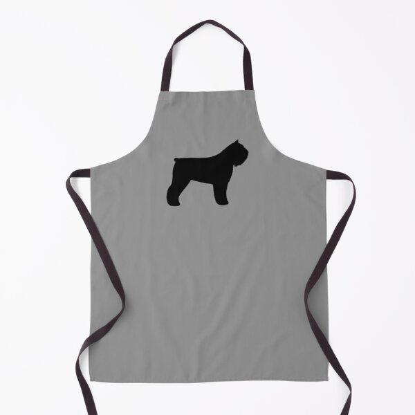 Bouvier des Flandres Dog Breed Silhouette(s) Apron