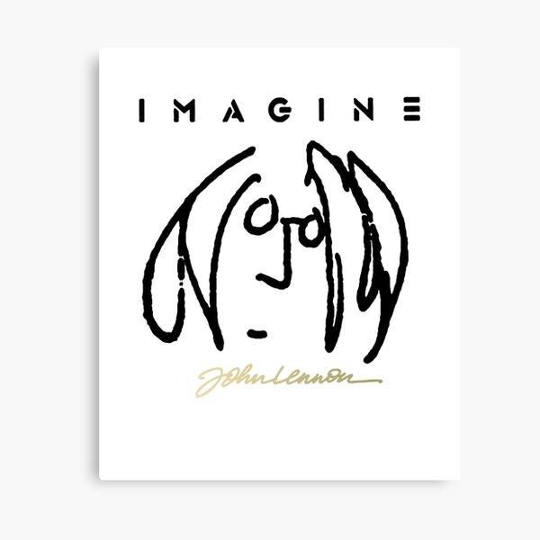john Lennon SELF Portrait Canvas Print