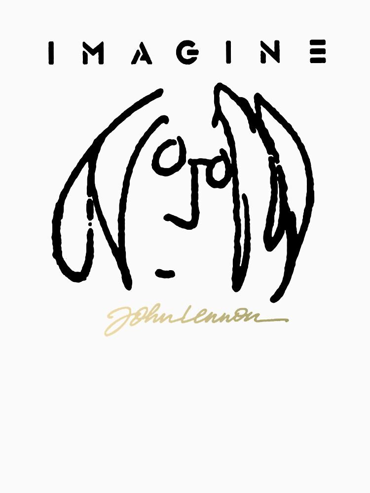 john Lennon SELF Portrait by WalkingSteam
