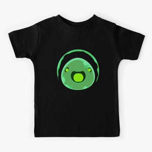 Kid_s Slime Rancher Icon Rad Slime Round Collar Kids T-Shirt