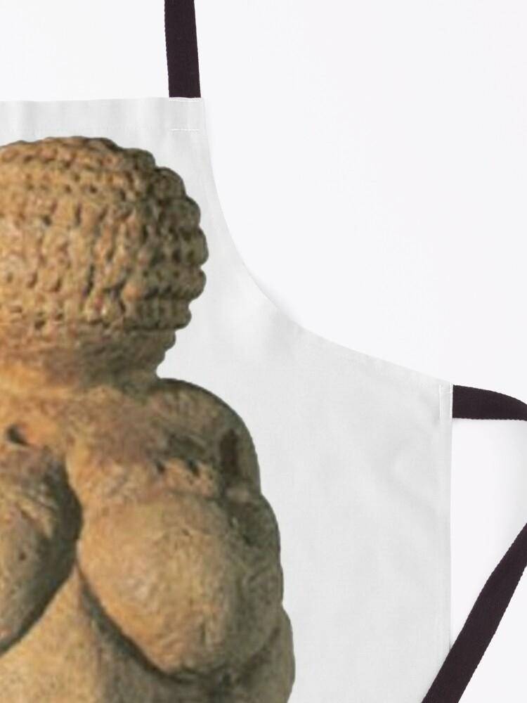 Alternate view of #Venus of #Willendorf #artifact sculpture art figurine statue humanbody #VenusofWillendorf Apron