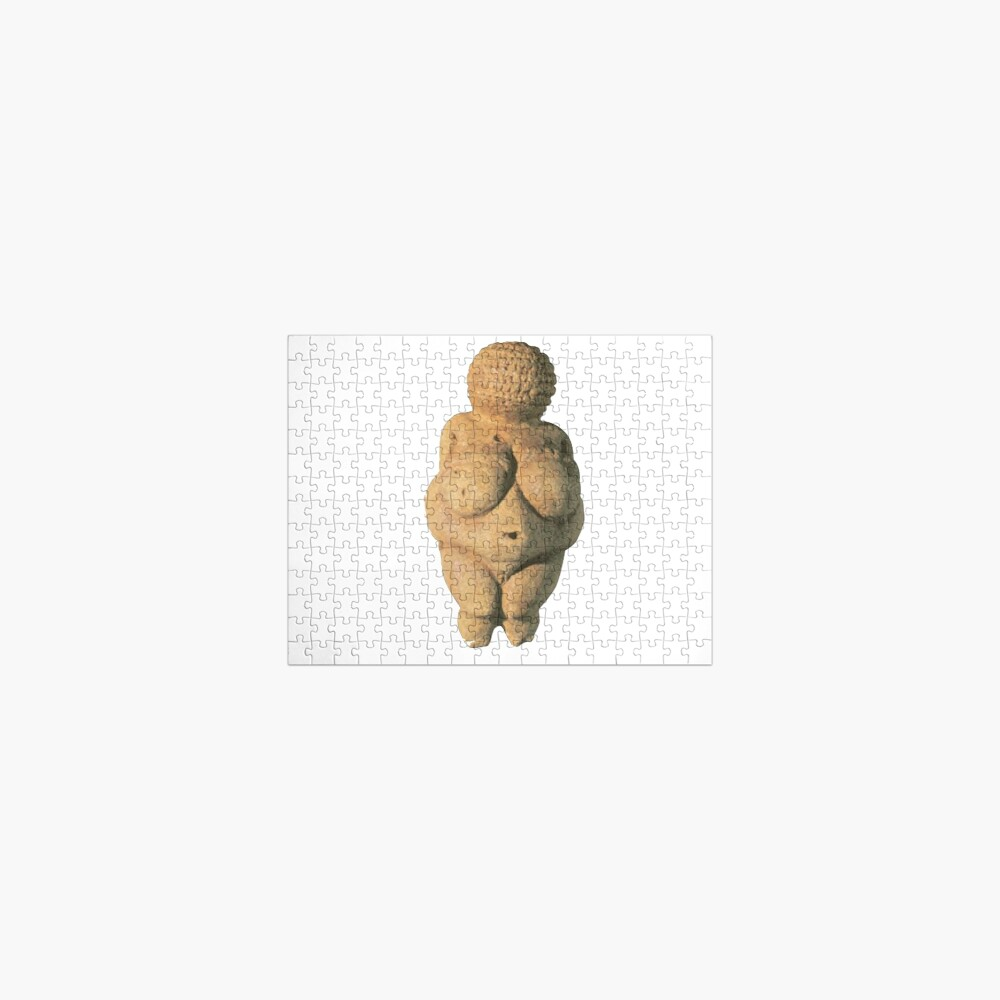 #Venus of #Willendorf #artifact sculpture art figurine statue humanbody #VenusofWillendorf Jigsaw Puzzle