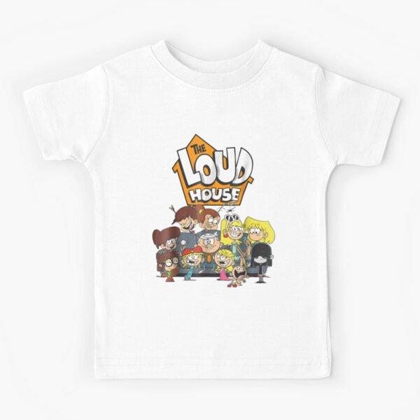 Nickelodeon The Loud House Character  Kids T-Shirt