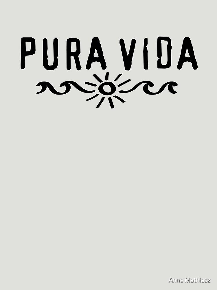 Pura Vida, Good Vibes, Costa Rica, sun, waves, surfing by boom-art